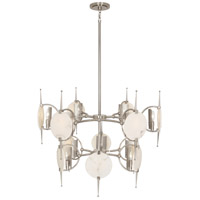 Robert Abbey S528 Jace 12 Light 32 inch Polished Nickel Chandelier Ceiling Light