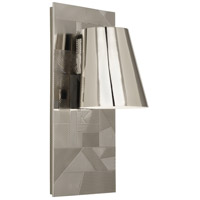 Robert Abbey S622 Michael Berman Brut 1 Light 7 inch Polished Nickel Wall Sconce Wall Light