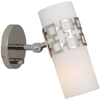 Robert Abbey S639 Jonathan Adler Parker 1 Light 5 inch Polished Nickel Wall Sconce Wall Light