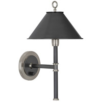 Robert Abbey S646 Aaron 1 Light 10 inch Dark Antique Nickel with Deep Patina Bronze Wall Sconce Wall Light