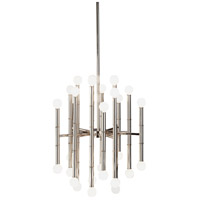 Robert Abbey S654 Jonathan Adler Meurice 30 Light 15 inch Polished Nickel Chandelier Ceiling Light