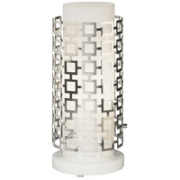 Robert Abbey S660 Jonathan Adler Parker 16 inch 60 watt Polished Nickel Table Lamp Portable Light