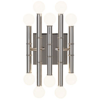 Jonathan Adler Meurice 10 Light 8 inch Polished Nickel Wall Sconce Wall Light