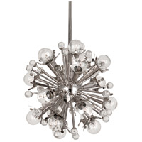 Jonathan Adler Sputnik 18 Light 14 inch Polished Nickel with Crystal Pendant Ceiling Light