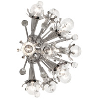 Robert Abbey S715 Jonathan Adler Sputnik 12 Light 14 inch Polished Nickel Wall Sconce Wall Light