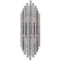 Robert Abbey S764 Jonathan Adler Meurice 2 Light 8 inch Polished Nickel Wall Sconce Wall Light