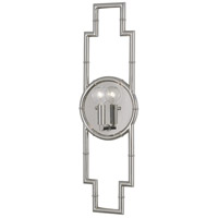 Robert Abbey S769 Jonathan Adler Meurice 1 Light 7 inch Polished Nickel Wall Sconce Wall Light