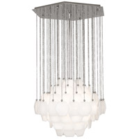 Robert Abbey S865 Jonathan Adler Vienna 3 Light 27 inch Polished Nickel Chandelier Ceiling Light