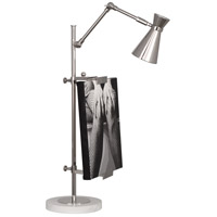 Robert Abbey S875 Jonathan Adler Bristol 28 inch 40 watt Polished Nickel Table Lamp Portable Light