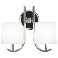 Robert Abbey S952 Francesco 2 Light 16 inch Polished Nickel Wall Sconce Wall Light photo thumbnail