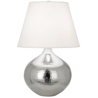 Robert Abbey S9871 Dal 27 inch 150 watt Polished Nickel Table Lamp Portable Light
