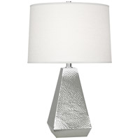 Robert Abbey S9872 Dal 26 inch 150 watt Polished Nickel Table Lamp Portable Light