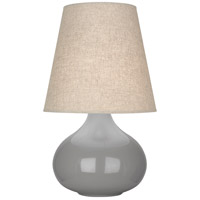 Robert Abbey ST91 June 24 inch 150 watt Smoky Taupe Accent Lamp Portable Light
