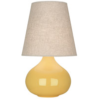Robert Abbey SU91 June 24 inch 150 watt Sunset Yellow Accent Lamp Portable Light
