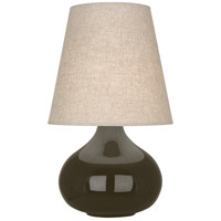 Robert Abbey TE91 June 24 inch 150 watt Brown Tea Accent Lamp Portable Light