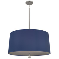 Robert Abbey WB328 Williamsburg Custis 3 Light 15 inch Polished Nickel Pendant Ceiling Light