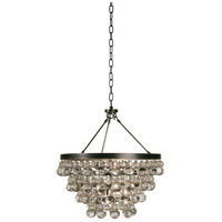 Robert Abbey Z1000 Bling 4 Light 21 inch Deep Patina Bronze Chandelier Ceiling Light