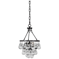 Robert Abbey Z1006 Bling 2 Light 10 inch Deep Patina Bronze Pendant Ceiling Light