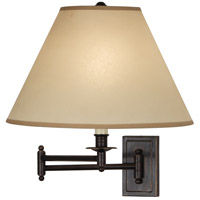Robert Abbey Kinetic 1 Light Swing Lamp in Dp Bronze Z1504XXX