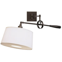 Robert Abbey Z1819 Real Simple 31 inch 60 watt Dark Bronze Powder Coat Wall Swinger Wall Light in Snowflake