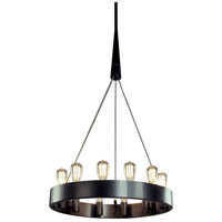 Robert Abbey Z2090 Rico Espinet Candelaria 12 Light 15 inch Deep Patina Bronze Chandelier Ceiling Light