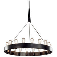 Robert Abbey Z2091 Rico Espinet Candelaria 18 Light 15 inch Deep Patina Bronze Chandelier Ceiling Light