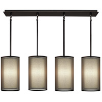Robert Abbey Saturnia 4 Light Chandelier in Bz Z2155