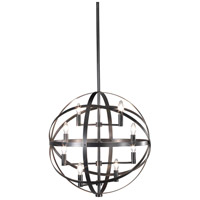 Robert Abbey Z2164 Lucy 8 Light 22 inch Deep Patina Bronze Pendant Ceiling Light