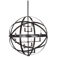 Lucy 12 Light 15 inch Deep Patina Bronze Pendant Ceiling Light