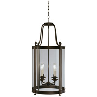 Robert Abbey Z3361 Blake 4 Light 15 inch Deep Patina Bronze Pendant Ceiling Light thumb