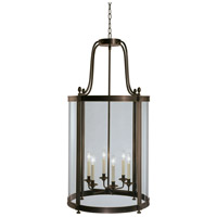 Robert Abbey Z3362 Blake 6 Light 23 inch Deep Patina Bronze Pendant Ceiling Light