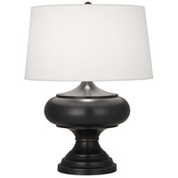 Monroe 29 inch 150 watt Deep Patina Bronze Table Lamp Portable Light