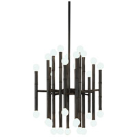 Robert Abbey Z654 Jonathan Adler Meurice 30 Light 15 inch Deep Patina Bronze Chandelier Ceiling Light