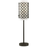 Jonathan Adler Parker 30 inch 60 watt Deep Patina Bronze Table Lamp Portable Light