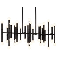 Robert Abbey Z687 Jonathan Adler Meurice 42 Light 38 inch Deep Patina Bronze Chandelier Ceiling Light