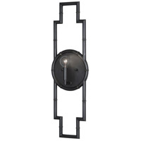 Robert Abbey Z769 Jonathan Adler Meurice 1 Light 7 inch Deep Patina Bronze Wall Sconce Wall Light