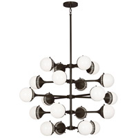 Robert Abbey Z789 Jonathan Adler Rio 20 Light 40 inch Deep Patina Bronze Chandelier Ceiling Light