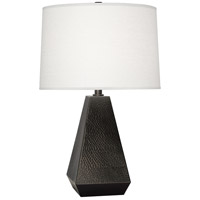 Robert Abbey Z9872 Dal 26 inch 150 watt Deep Patina Bronze Table Lamp Portable Light