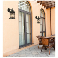 Spark & Spruce 24314-MB View 1 Light 18 inch Matte Black Outdoor Sconce alternative photo thumbnail
