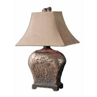 Spark & Spruce 23558-AB Feather 27 inch 100 watt Atlantis Bronze Table Lamp Portable Light