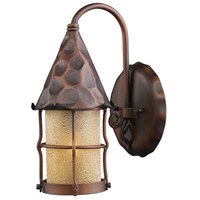 Spark & Spruce 24479-AC Greenville 1 Light 14 inch Antique Copper Outdoor Sconce photo thumbnail
