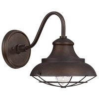 Spark & Spruce 24209-BB Crowlery 1 Light 11 inch Burnished Bronze Outdoor Wall Mount