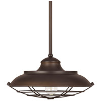 Spark & Spruce 24211-BB Crowlery 1 Light 17 inch Burnished Bronze Pendant Ceiling Light