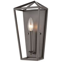 Spark & Spruce 23427-ORI Lawrence 1 Light 6 inch Oil Rubbed Bronze ADA Sconce Wall Light
