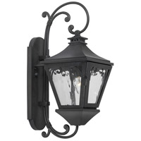 Spark & Spruce 24889-CW Kentucky 1 Light 20 inch Charcoal Outdoor Sconce