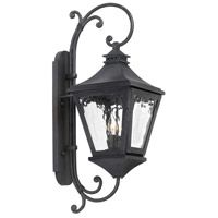 Spark & Spruce 24890-CW Kentucky 2 Light 26 inch Charcoal Outdoor Sconce