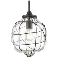 Spark & Spruce 24913-ORCS Allen 1 Light 9 inch Oil Rubbed Bronze Mini Pendant Ceiling Light alternative photo thumbnail