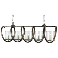 Pyrite Bronze Wrought Iron Chandeliers