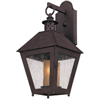 Spark & Spruce 20146-CR Granger 1 Light 18 inch Centennial Rust Outdoor Wall