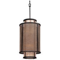 Spark & Spruce 20479-B Dahlia 8 Light 18 inch Bronze Pendant Entry Ceiling Light